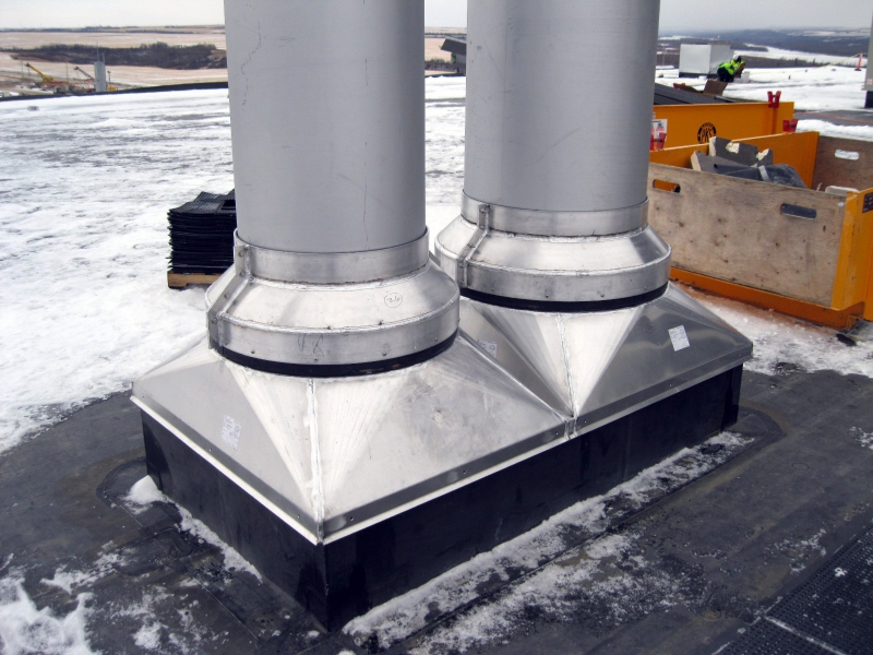 Roof Curb Accessories And Add Ons Flashing Collars